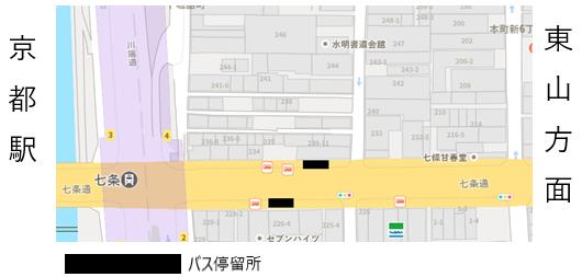 バス停留所2